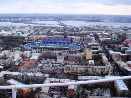 Воронежский ЦСП зимой