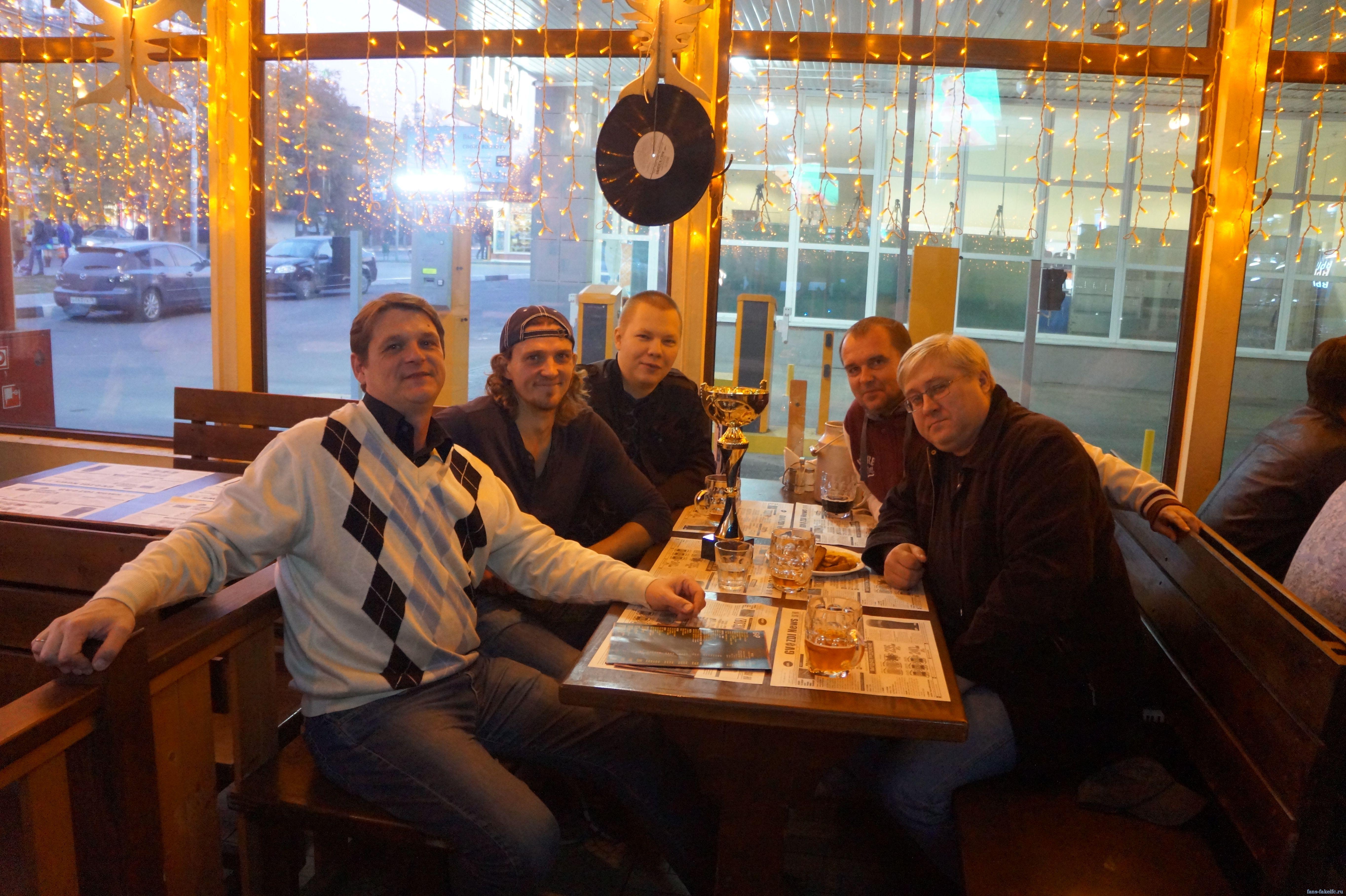 Встреча болельщиков Факела с лучшим игроком сезона 2013/2014